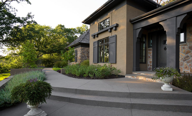 Contemporary Exterior by Windsor Companies