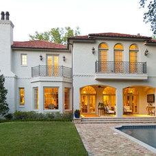 Mediterranean Exterior by Isler Homes