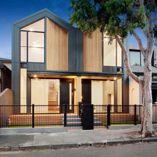 Inspiration for a contemporary exterior in Melbourne.