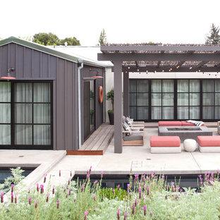 Idéer för ett klassiskt hus, med allt i ett plan och sadeltak