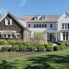 Farmhouse Exterior by Highgate Builders