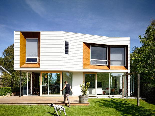 Contemporary Exterior by Preston Lane