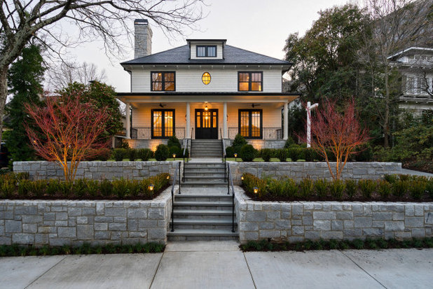 Traditional Exterior by Rossoto Art LLC