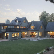 Traditional Exterior by Wm. F. Holland/Architect