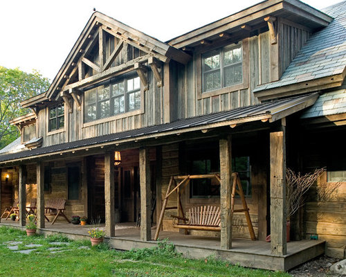 Western Front Porches Home Design Ideas Pictures Remodel