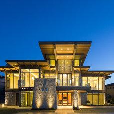 Contemporary Exterior by Bill Frame Custom Homes Ltd