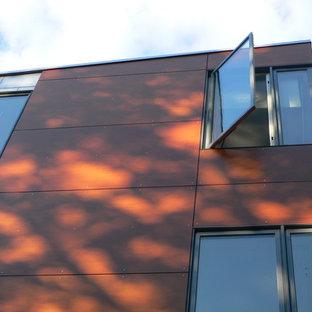 wood composite panel rainscreen siding