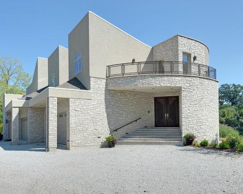 White Stone Exterior stone for exterior of house calgary. homes kodiak mountain stone