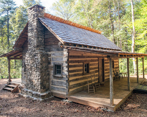 Brilliant Best Rustic Cabin Design Ideas Remodel Pictures Houzz Largest Home Design Picture Inspirations Pitcheantrous