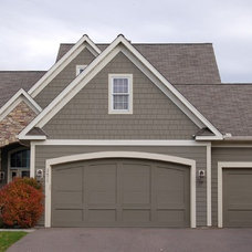 Traditional Garage And Shed by Twin Cities Siding Professionals