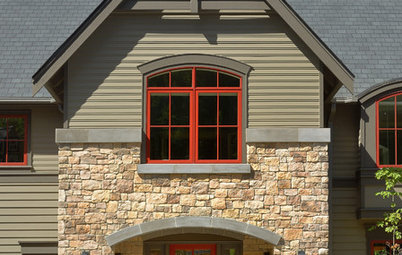 Exterior House Colors for Orange Brick