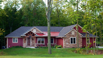 Wooded Rambler with Elegant Rustic Details