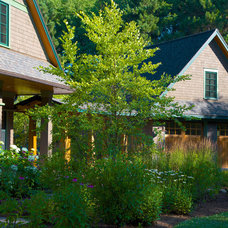 Traditional Exterior by A J Miller Landscape Architecture PLLC