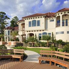 Mediterranean Exterior by Sneller Custom Homes and Remodeling, LLC