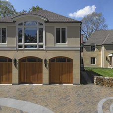 Contemporary Exterior by Woodmeister Master Builders