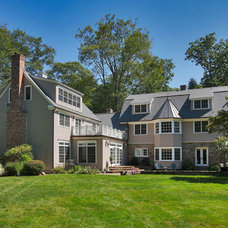 Traditional Exterior by Wormser and Associates