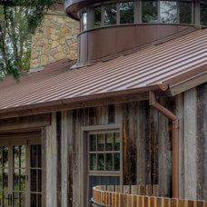 Contemporary Exterior by Moroso Construction