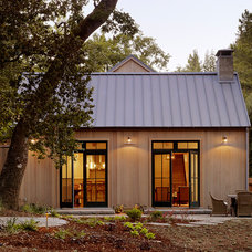 Traditional Exterior by Charlie Barnett Associates