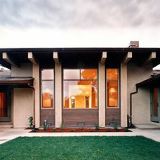 Contemporary Exterior by Dan Phipps Architects