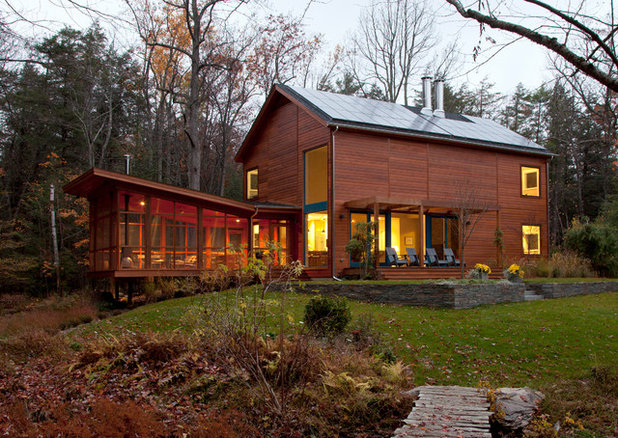 Contemporary Exterior by Architectural Collaborative