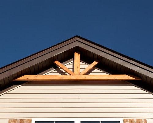 cedar gable pediment home design ideas renovations photos