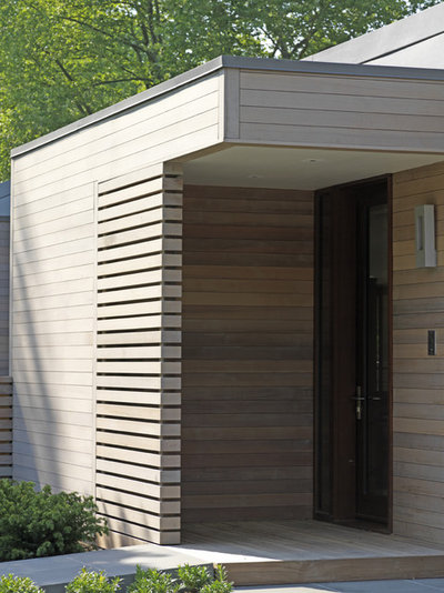 Contemporary Exterior by Ziger|Snead Architects