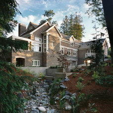 Traditional Exterior by Tyler Engle Architects PS