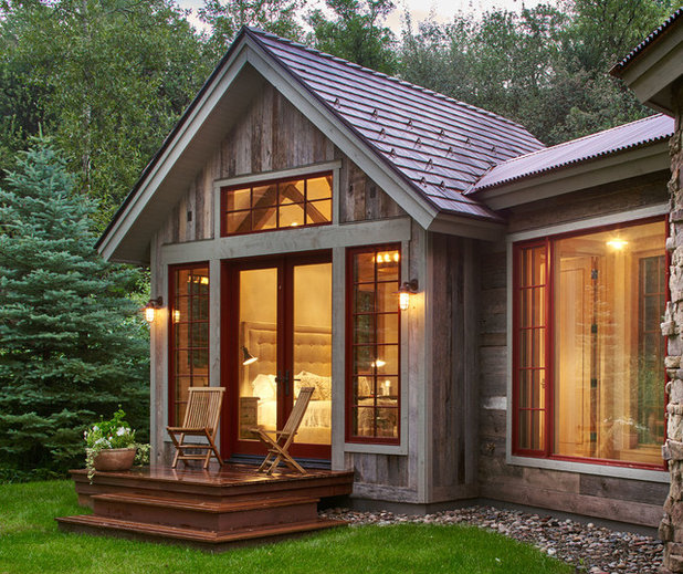 Rustic Exterior by Structural Associates