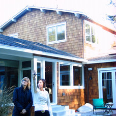 Traditional Exterior by Suzette Sherman Design