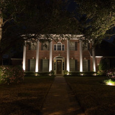 Traditional Exterior by Light It Right
