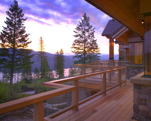 Wrap Around Deck Home Design Ideas Pictures Remodel And