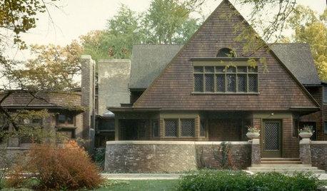 名作住宅:フランク・ロイド・ライトの自邸兼スタジオ