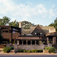 Modern Exterior by Frank Lloyd Wright Preservation Trust