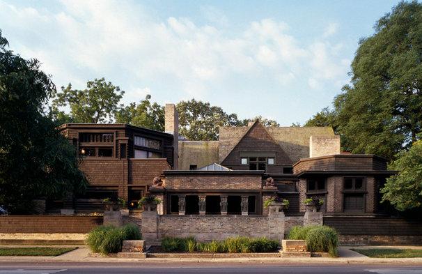 Modern Exterior by Frank Lloyd Wright Trust
