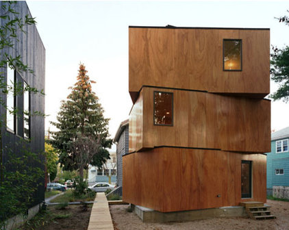 Eclectic Exterior by uni architecture