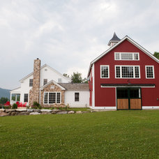 Traditional Exterior by Yankee Barn Homes