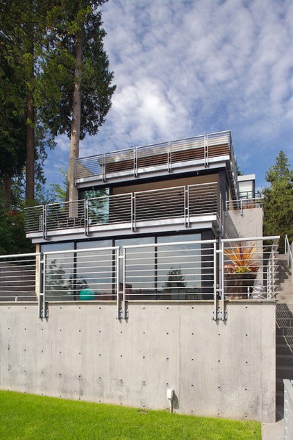 Modern Exterior by Lane Williams Architects