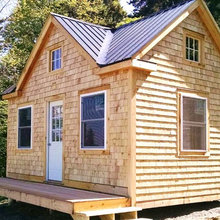 Year Round Living ~ Gibraltar Cabin 12' x 20' - Rustic