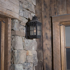 Eclectic Exterior by Montana Reclaimed Lumber Co.