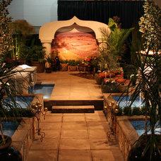 Mediterranean Exterior by Paradise Restored Landscaping & Exterior Design