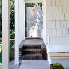 Traditional Exterior by Rozalynn Woods Interior Design