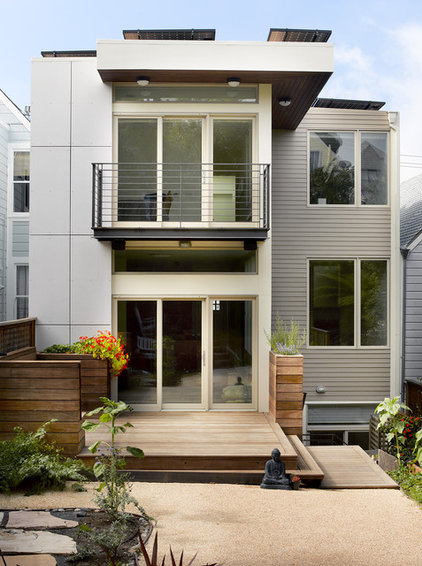 Modern Exterior by Levy Art & Architecture