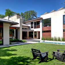 Modern Exterior by todd hamilton