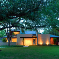Contemporary Exterior by todd hamilton