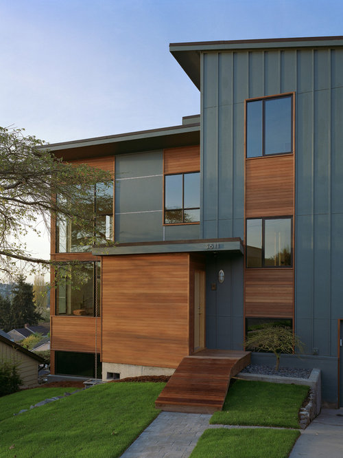 James hardie stucco panel home design ideas pictures for Modern exterior materials