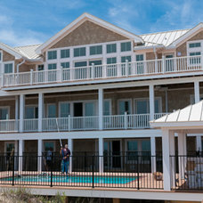 Beach Style Exterior by Tab Winborne Corporation