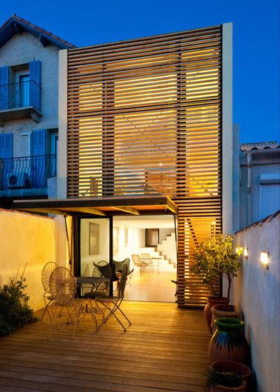 Contemporain Façade by Tarlet Architectes