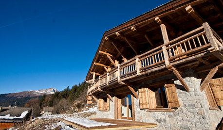 Architecture régionale : Le chalet d'altitude