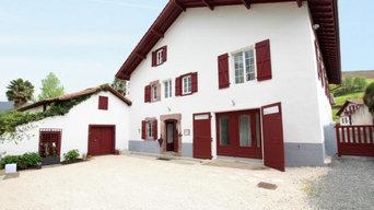 Chantier en cours - Rénovation d'une grande bâtisse basque