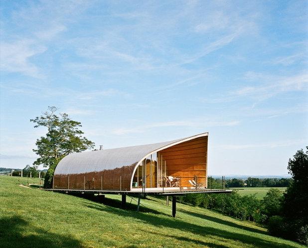 Contemporary Exterior by Denis Favret